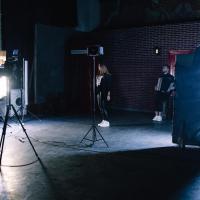 backstage со съёмок клипа в киеве