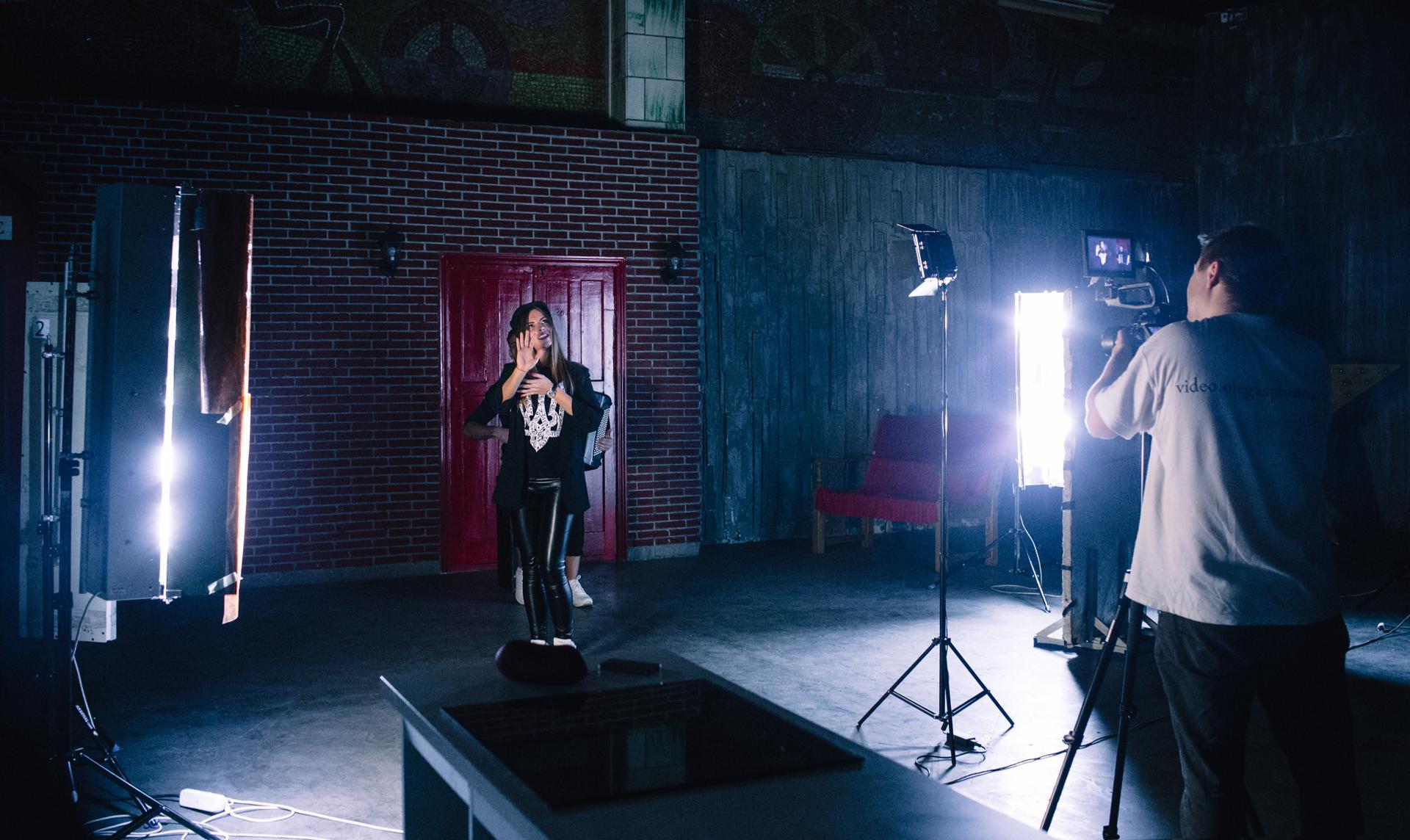 съёмка музыкального клипа киев