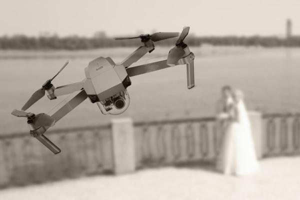 заказать квадрокоптер на свадьбу в киеве