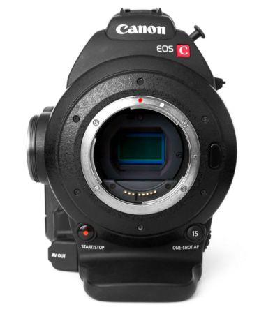 сенсор super35 canon c100