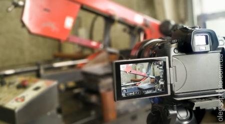 съёмка производства