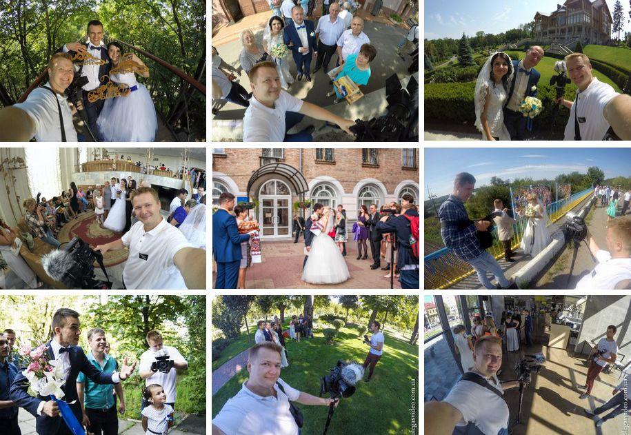 бэкстейдж свадебных съёмок