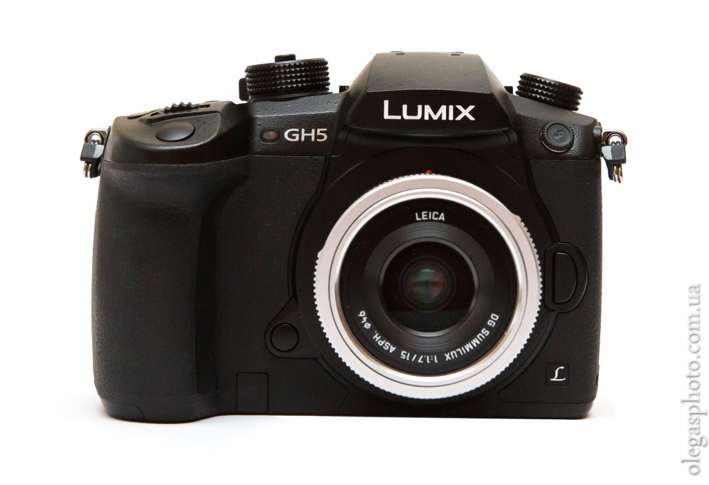 panasonic gh5 rear view