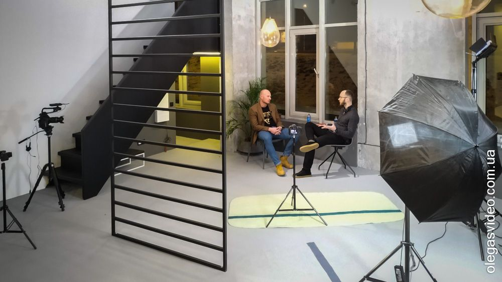 съёмка и монтаж интервью в киеве