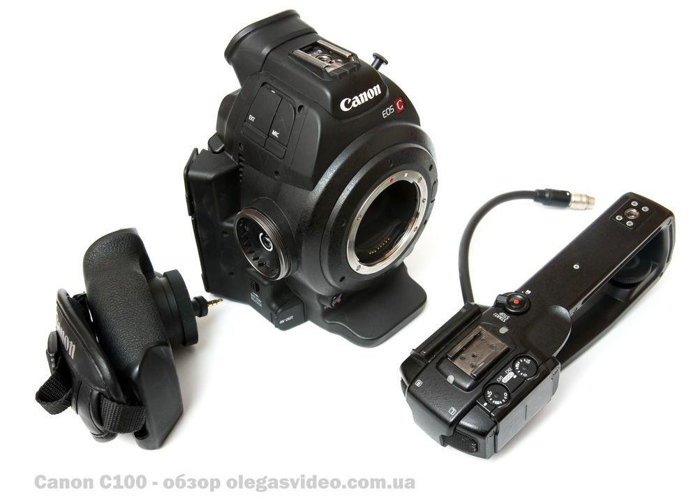 обзор Canon C100 на русском