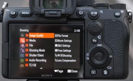 меню Sony-a7S-III