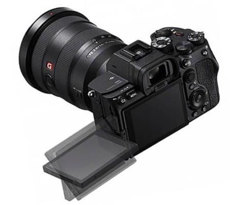 Sony-a7s-III фото сзади и экран