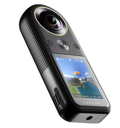 камера на 360 градусов qoocam 8k